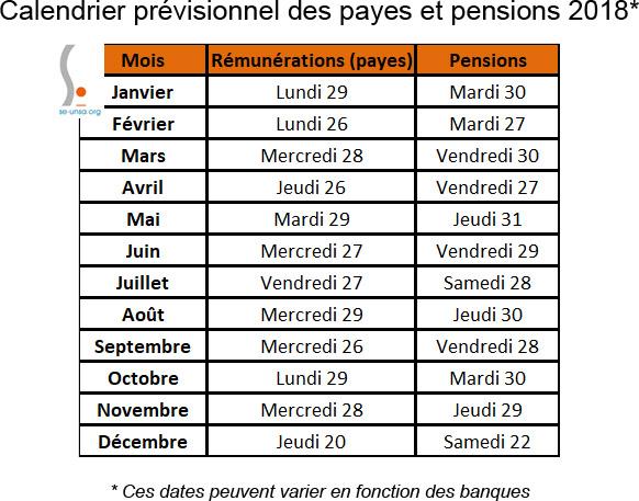 6b2d4a3647d  SE-UNSA 41  Calendrier prévisionnel des payes et pensions 2018