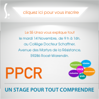 Stage PPCR